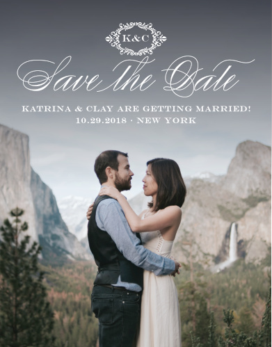 Lace Save The Dates Match Your Color Style Free