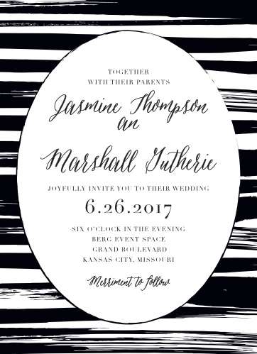 Haute Couture Wedding Invitations
