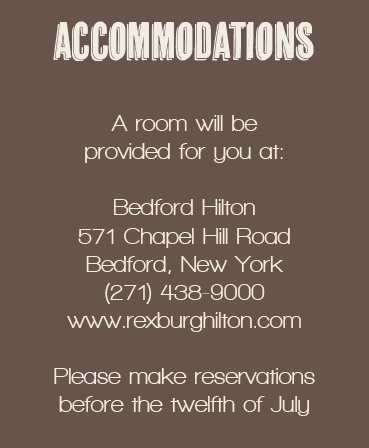 The Charming Mustache Accommodation Cards