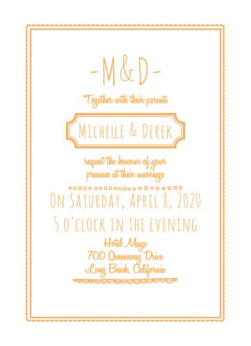 Keep it Simple Wedding Invitations