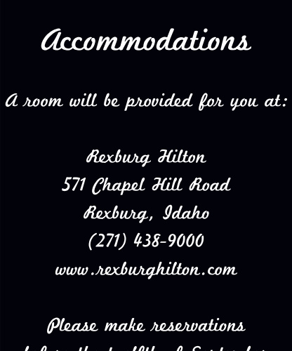 Tea Photo Collage Accommodation Cards