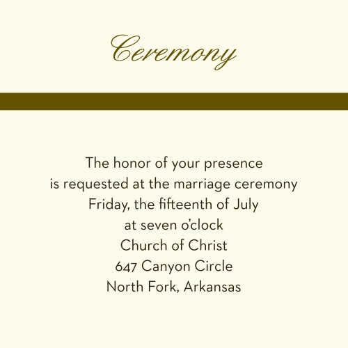 Camo & Antlers Ceremony Cards