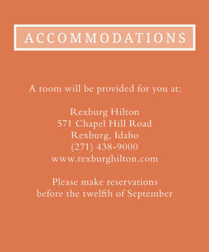 Sheer Overlay Accommodation Cards