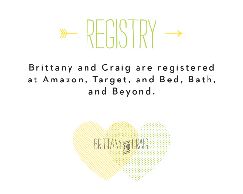 Heart to Heart Registry Cards