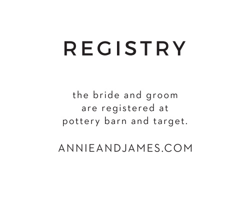 Swirling Simplicity Registry Cards