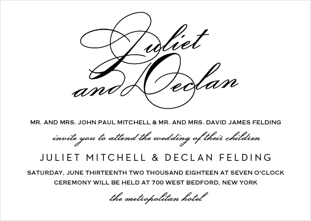 script wedding invitations match your color style free