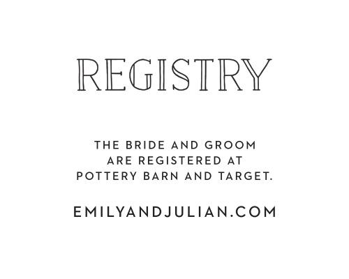 Type Frame Registry Cards