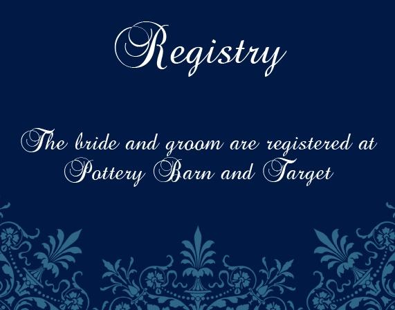 The Elegant Spires Registry Cards