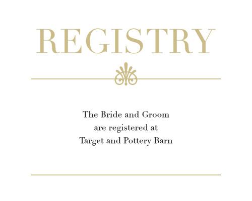 Glamorous Standard Foil Registry Cards