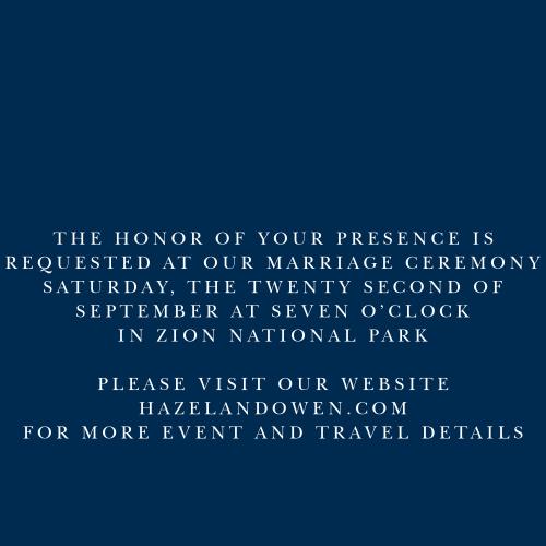 Royal Scrolls Foil Ceremony Cards