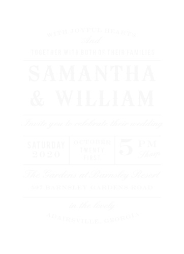 Country Wedding Invitations Match Your Color Style Free