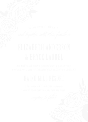 rustic wedding invitations match your color style free