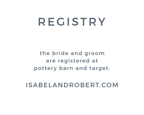 Watercolor Bouquet Registry Cards