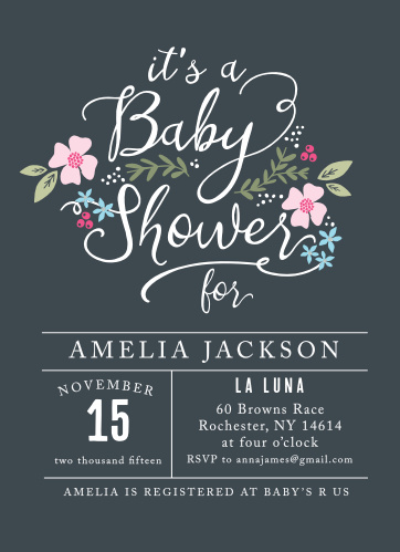5796aa7335f8e Baby Shower Invitations | 40% Off Super Cute Designs - Basic Invite