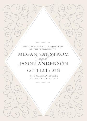 00e1f4049555 Swirl Frame Wedding Invitations
