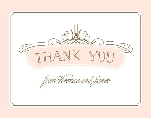 Opulent Frames Thank You Cards