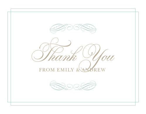 Emily Swash Thank You Cards