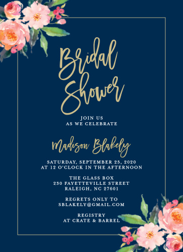 b6e9b6364 Bridal Shower Invitations   Wedding Shower Invitations