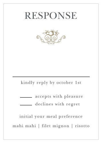 Wedding Response Cards.Wedding Rsvp Cards Match Your Color Style Free Basic
