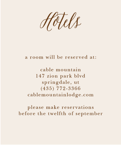 Drawn Together Accommodation Cards