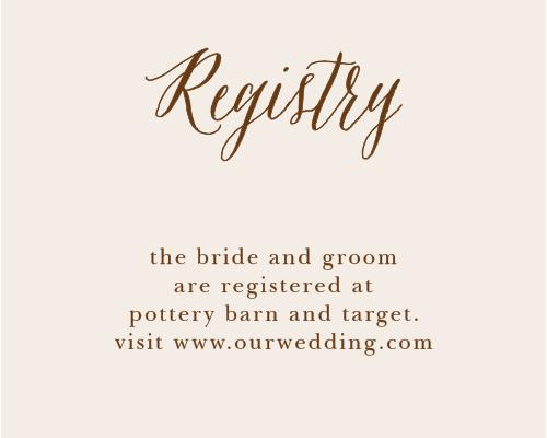 Drawn Together Registry Cards
