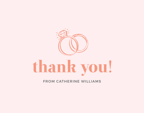 Pop Fizz Clink Bridal Shower Thank You Cards