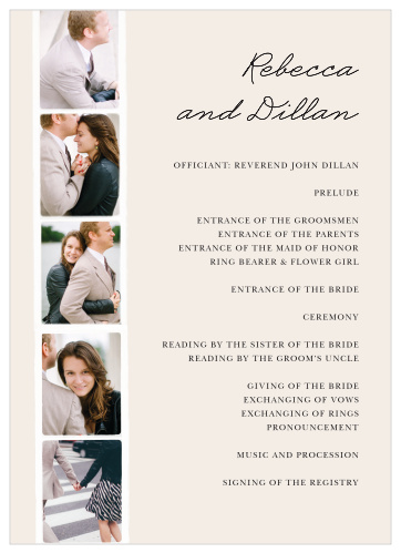 photo relating to Printable Wedding Programs named Wedding day Ideas Sport Your Colours Design and style Totally free! - Uncomplicated