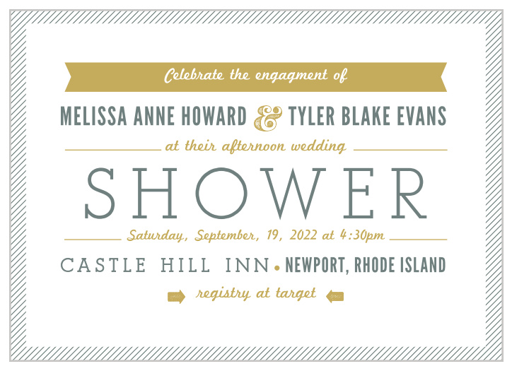 Couples Bridal Shower Invitations Match Your Color Style Free
