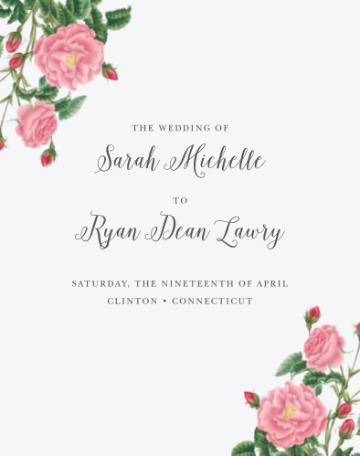 Budding Blooms Guest Book