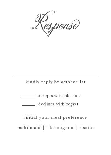 Timeless Script Response Cards