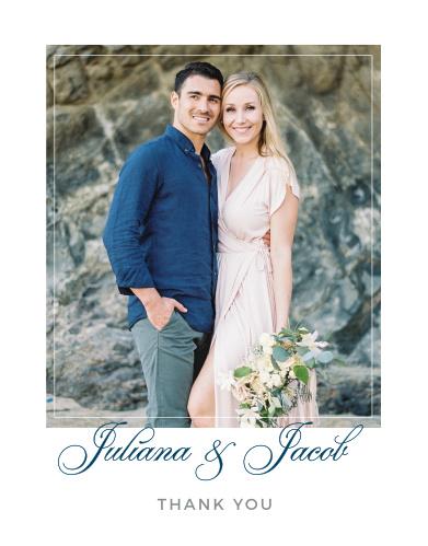 wedding thank you photo cards