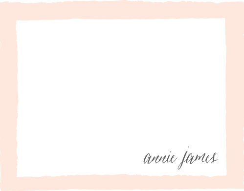 Painted Border Business Stationery