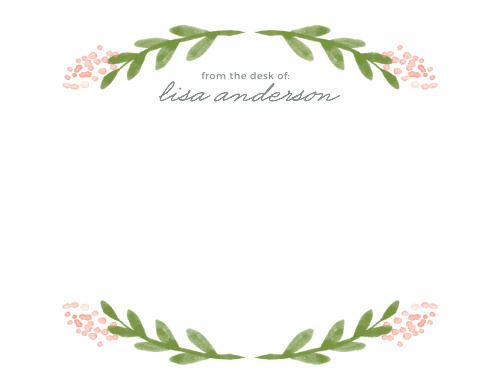 Garden Watercolors Business Stationery