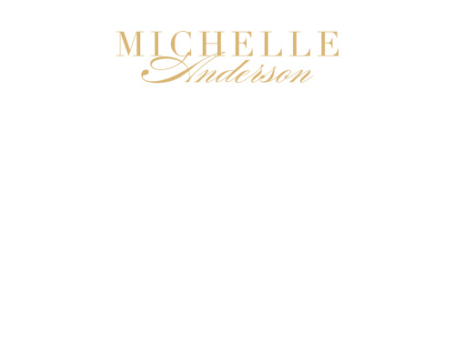 Classic Typography Foil Business Stationery