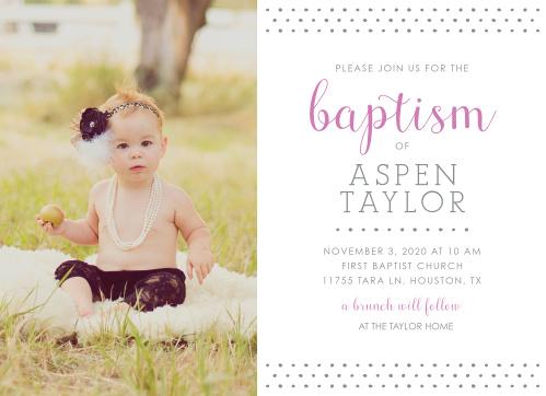 girl baptism invitations girl christening invitations basic invite