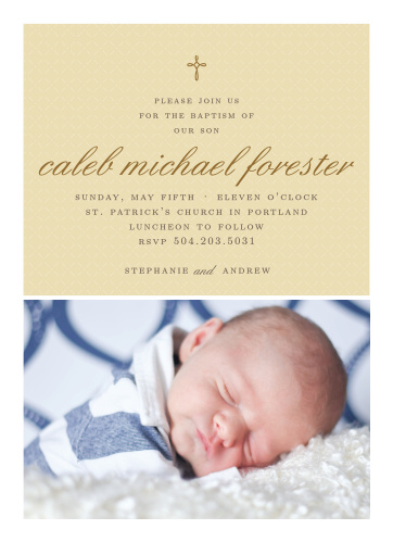 Boy Baptism Invitations Boy Christening Invitations Basic Invite
