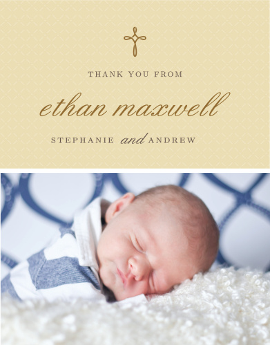 Baptism Thank You Cards Christening Thank You Cards Basic Invite