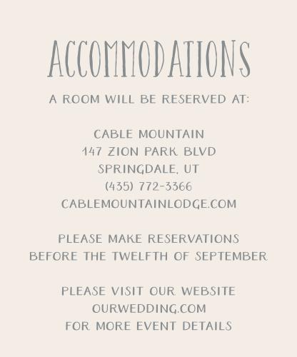 Starfish Beach Accommodation Cards