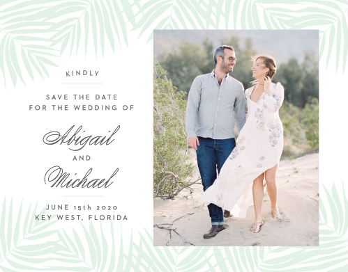beach save the dates match your color style free