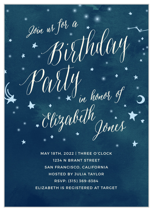 Girls First Birthday Invitations By Basic Invite