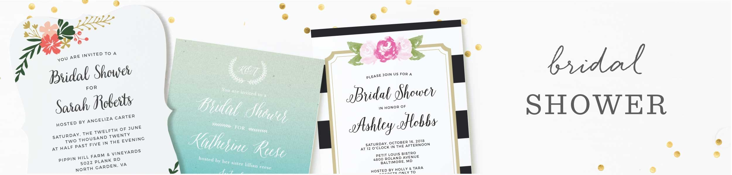 84b8e6ca54fc Bridal Shower Invitations   Wedding Shower Invitations