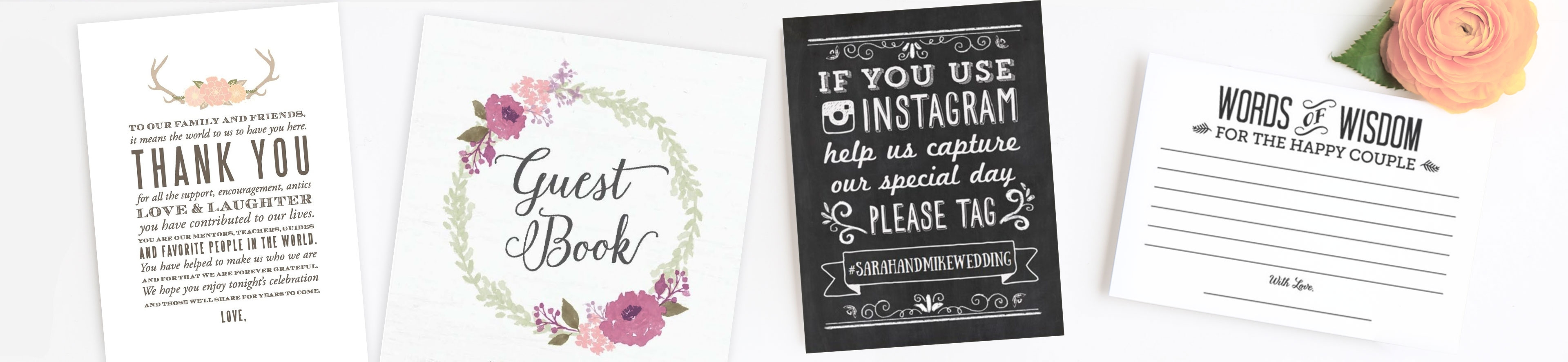 photo relating to Free Printable Graduation Advice Cards identify Wedding day Printables and Absolutely free Wedding day Templates Very simple Invite