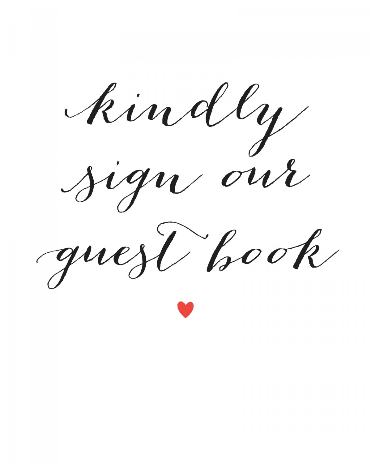 This is a photo of Printable Guest Book Pages within sheet