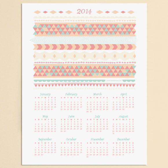2014 Calendar Printable