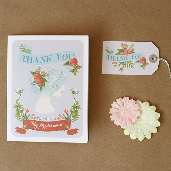 image relating to Printable Bridesmaid Cards known as Thank your self for currently being my Bridesmaid Card Printable as a result of Uncomplicated Invite