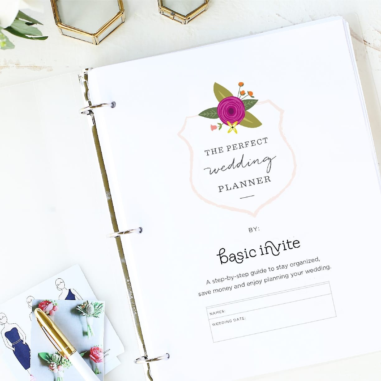 Free Wedding Ideas: Wedding Planner Printable By Basic Invite