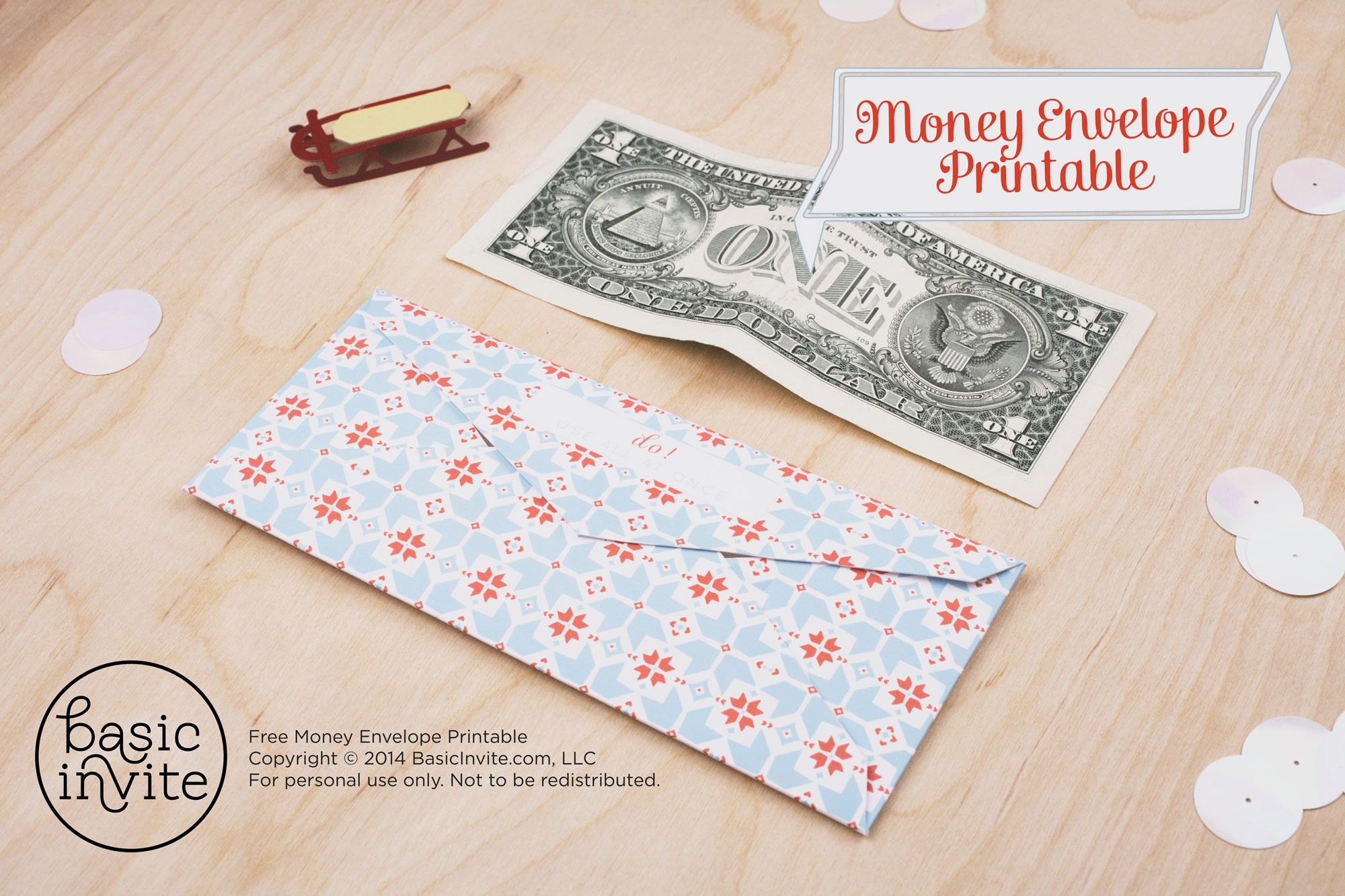 picture relating to Printable Money Envelope called Financial Envelope Printable