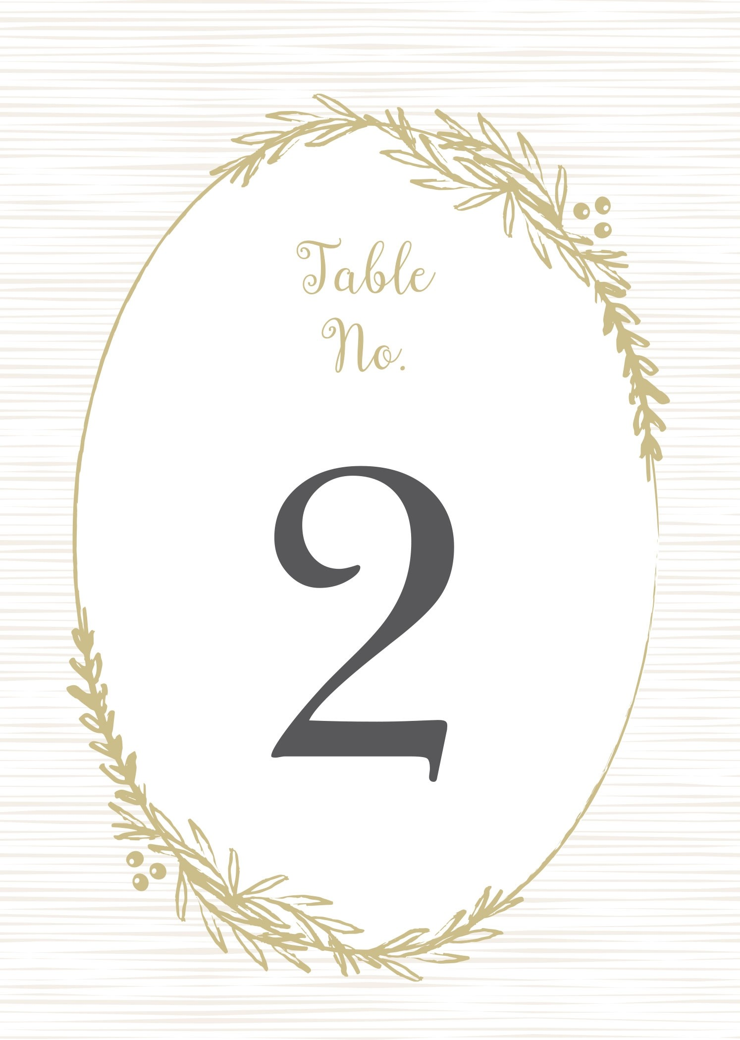 picture about Printable Table Number named Soft Laurel Desk Range Printables by way of Easy Invite