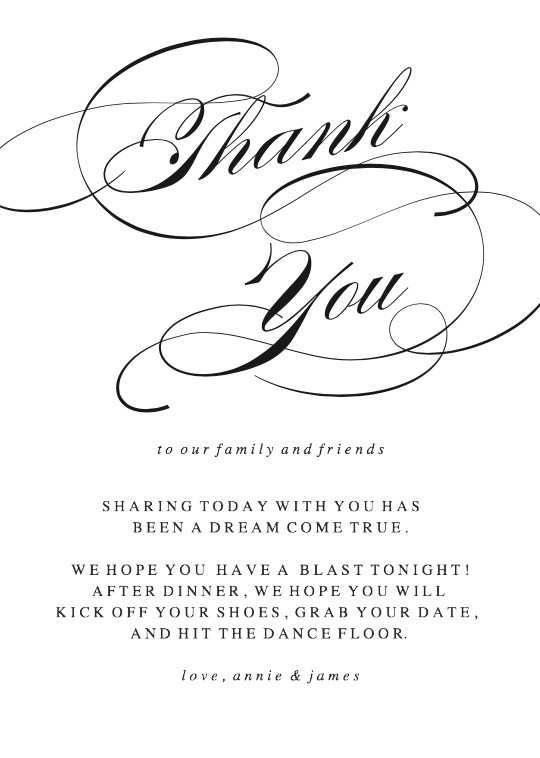 image relating to Thank You Printable identify Ease Thank On your own Playing cards Printable as a result of Simple Invite