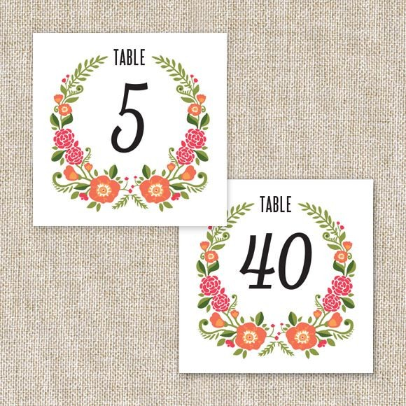 photograph relating to Free Printable Table Numbers 1-30 named Wedding ceremony Desk Figures Printable PDF via Very simple Invite